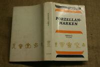 Sammlerbuch Porzellanbuch mit 2063 Porzellanmarken der Welt , DDR 1975