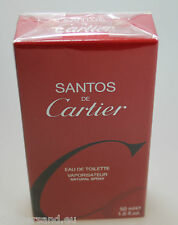 SANTOS de Cartier 50 ml Eau de Toilette EdT Splash Neu / OVP