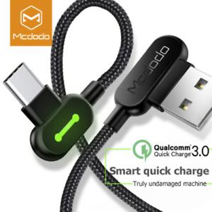 Samsung Note 9 S9 S10 MCDODO USB-C Typ C-Kabel Hochleistungs-Ladegerät