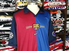 BARCELONA home Centenary 1999 shirt - RIVALDO #11 - Brazil-AC Milan-Spain-Jersey