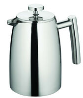 New AVANTI 8 Cup Modena Double Wall Insulated S/Steel Coffee Plunger 1.0 Litre