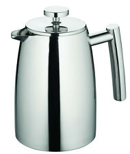 New AVANTI 6 Cup Modena Twin/ Double Wall Insulated S/Steel Coffee Plunger 800ml