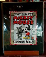 Disney Parks Mickey Mouse Steamboat Willie Deluxe Print by Patty Peraza