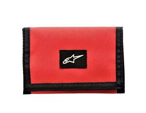AlpineStars Friction Men's Trifold Wallet One Size Red