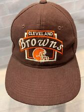 Vintage Cleveland BROWNS Football NFL Snapback Adult Cap Hat