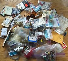 S422 HUGE LOT OF BEADS - GLASS,MULTI-METAL,WOOD,&  more