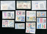 Italy Pristine Mint NH 1960s to 1970s Complete Year Stamp Collection