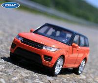 WELLY 1:36 LAND ROVER RANGE ROVER SUV Alloy Car Model Boys Kids Toys