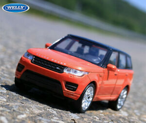 WELLY 1:36 Scale SUV Alloy Car Model Boys Kids Toys For LAND ROVER RANGE SPORT