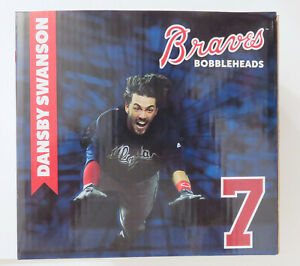 2017 Atlanta Braves Inaugural Season DANSBY SWANSON The Flow SGA Bobblehead MIB