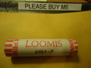 2020-P ROLL OF PENNIES     (((MINT SEALED HEAD TAILS END)))    >> USA SELLER <<