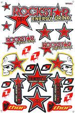 Metal Mulisha Rockstar Energy Sticker Motocross Racing Motorcycle Bike Decal #T2