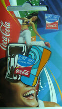 GLASSES COCA COLA ATHENS 2004 OLYMPIC PIN