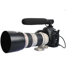 DC/DV Microphone MIC fr Camera Nikon D7000/D5200/D5100/D3200/D800E/D800&Sony a99