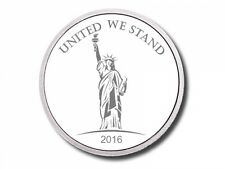 5 - 2016 - 1 oz. 999 Fine Silver Rounds - Statue of Liberty - Protected - Unc.