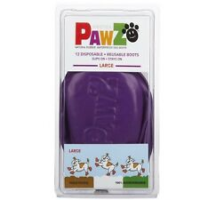 PawZ Protex Dog Boots Water-Proof Paws Disposable Reusable Large Purple