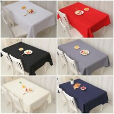 Pure cotton Table Cover Cloth Wipe Clean Party Tablecloth Rectangle Cover Cloth