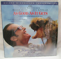 As Good As It Gets LASERDISC Deluxe Widescreen Edition Jack Nicholson