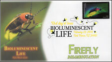 18-069, 2018, Bioluminescent Life, DCP, Firefly, First Day Cover