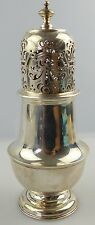 Englischer Zuckerstreuer in 925 Ag Silber aus London von 1898, norb848