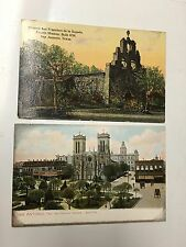Postcards San Antonio Texas Lot Of 2