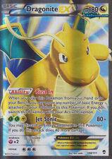 DRAGONITE EX FULL ART 108/111 XY FURIOUS FISTS SET POKEMON SUPER RARE CARD