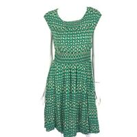 Anthropologie Maeve Dress Small Green Pockets