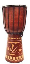 Djembe 40 cm Trommel Afrika Trommel Bongo SUPER Klang Handarbeit