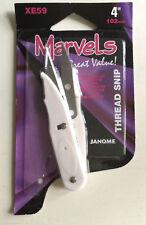 Janome 102mm Thread Ripper Seam Cutter Scissors Quick Clips Craft Snip Sewing