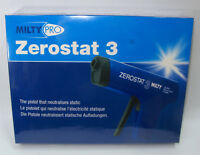 Milty Pro Zerostat 3 Anti-Static Gun for Vinyl Records LP CD static free SEALED