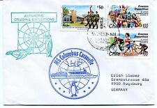 1992 Columbus Caravelle Base Tenente R. Marsh Chile Polar Antarctic Cover