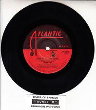 "BONEY M Rivers Of Babylon & Brown Girl In The Ring 7"" 45 record + juke box strip"