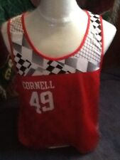 nike reversible cornell lacrosse jersey sublimated