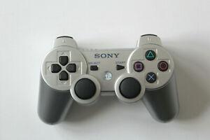 Original Sony Playstation 3 PS3 Dualshock 3 Controller silber