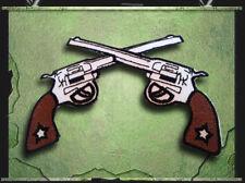 Aufnäher Aufbügler Patch Revolver Colts Rockabilly