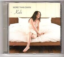 (GY192) Kah, More than Dawn - 2009 CD