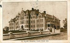 1911 St Joseph Hospital, South Bend, Indiana Postcard