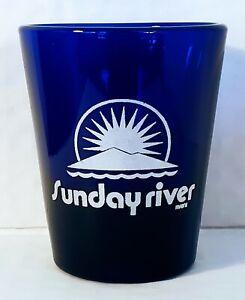 Sunday River MAINE Shot Glass Barware Drinkware