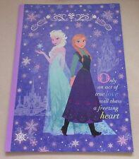 Official Disney * Elsa & Anna B5 Craft Notebook * Frozen Art Japan Cute Limited