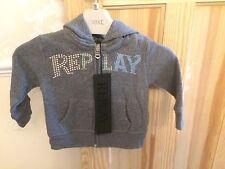 Replay Babies Hooded Top 6 Months  BNWT Hoody Unisex