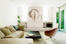 ik693 Wall Decal Sticker head horse nag pet stallion thoroughbred horse bedroom