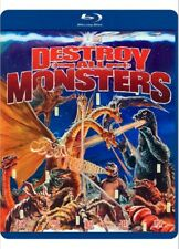 Toho Godzilla Destroy All Monsters Blu-Ray Disc Movie Out Of Print 2014