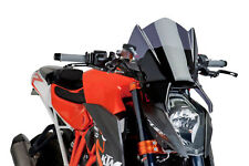 PUIG NAKED N.G. SPORT SCREEN KTM 1290 SUPERDUKE R 2016 DARK SMOKE