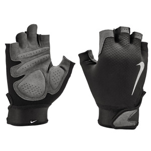 Nike AC4227-017 Fitness Gloves Men Ultimate Heavy-Weight Training GYM Black