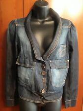 Patrizia Pepe Vintage Denim Jean Jacket Made in Italy Size 6