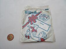 Vintage? Baby-Mok Baby Doll Blanc en Cuir Mocassin Chaussure Kit vêtements Entièrement neuf sous emballage