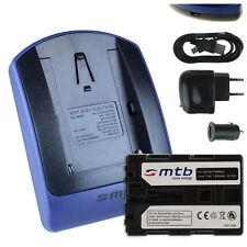 Akku + Ladegerät (USB) NP-FM500H für Sony Alpha SLT-A65, A77, A99