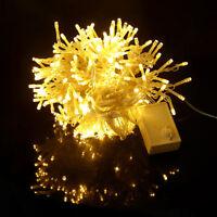 3x3M LED Lichternetz Vorhang Garten Netz Beleuchtung Deko Weihnachten 300Leds