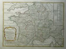Antique map of France by Nicolas Sanson 1797