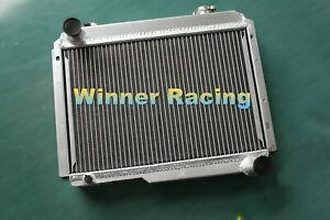 Fit Renault Alpine A110 1300 R8 Gordini 1965-1971 Full aluminum radiator Rear